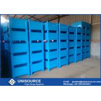 Wholesale Unisource Industrial Collapsible Metal Box , Wire Mesh Storage Cages For Transporting from china suppliers