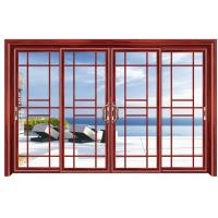 Wholesale Commercial Double Glazed Aluminium Sliding Door External Grill Design from china suppliers