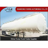 Wholesale 3 Axles Petrol Fuel Tanker Semi Trailer For Crude Oil Transportation from china suppliers