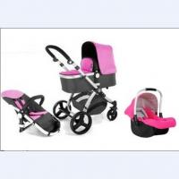 Wholesale Light Luxury Baby Jogging Strollers 3 In 1 for Kids , Three Wheels from china suppliers
