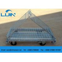 Wholesale Industrial Steel Mesh Storage Cages, 1200 * 1000 * 890mm Wire Security Cage from china suppliers