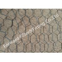 Wholesale Iron / stainless steel hexagonal wire netting for protecting mesh fence , Length Customized from china suppliers