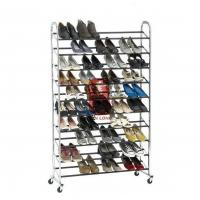 Wholesale Durable Wire Floor Shoe Display Racks Hotel Furniture from china suppliers