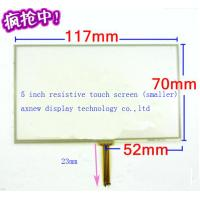 Wholesale 5 inch resistive touch panel screen for GPS navigation devices, GPS digitizer, monitor small size for LH980N from china suppliers