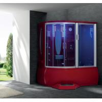 Wholesale Sexy color computerized whirlpool steam shower room (Red) from china suppliers