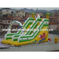 Wholesale Hot Sale Inflatable Double Lane Slide In Cartoon Theme For Kids from china suppliers