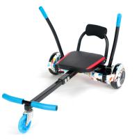 Quality Balancing Two Wheel Scooter Go Kart Chair , Hoverboard Sitting Attachment for sale