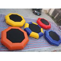 Wholesale 0.9mm PVC Tarpaulin 3m Dia Inflatable Water Trampoline With 24 Months Warranty / Repair Kits from china suppliers