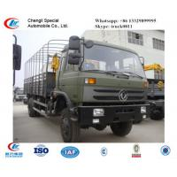 Wholesale dongfeng 4*4 knuckle boom mounted on truck, hot sale dongfeng truck with crane for sale from china suppliers
