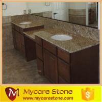 Wholesale Fast delivery giallo ornamental double granite bathroom, vanity top from china suppliers
