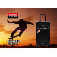 """Wholesale 8"""" Pro Multifunction Bluetooth Trolley Rechargeable Speaker Box On Wheels from china suppliers"""