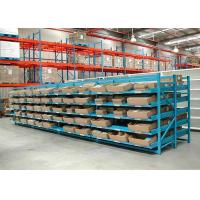 Quality Wholesale Industrial Steel Storage Racks / Gravity Roller Pallet Racks For Storage for sale