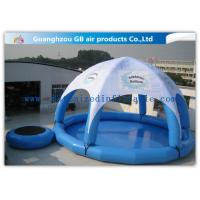 Wholesale UV - Resistance Inflatable Air Tent Airtight Inflatable Swimming Pool For Adults / Kids 0.9mm PVC from china suppliers
