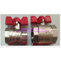 Wholesale Lever Handle Water Fountain Equipment Wheel Female Forged Full Bore Brass Ball from china suppliers