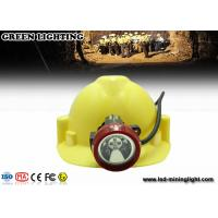Wholesale 4500 Lux Led Mining Light , Portable Cordless Mining Cap Lamps With 4ah Baterry from china suppliers