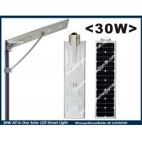 Quality 30W All In One Solar LED Street Lights for India,Nigeria, Indonesia, Philippines,Thailand for sale