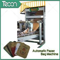 Wholesale High Quality Energy Conservation Multiwall Kraft Paper Bag Making Machine from china suppliers