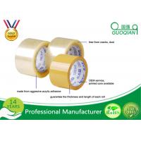 Wholesale Clear Transparent High Tack Adhesive BOPP Packing Tape 48mm X 50m from china suppliers