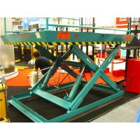 Wholesale 10m 200kg Stationary Scissor Lift  high strength steel platform ladder lift from china suppliers