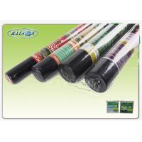 Quality 90GSM Black color UV treatment PP Weed Mat Roll For Ground Cover And Grass Control for sale