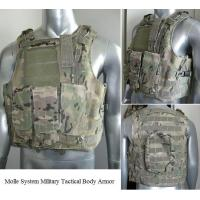 Wholesale NIJ IIIA, III & IV Military Bulletproof Vest Molle System Tactical Body Armor BPV-MT01 from china suppliers