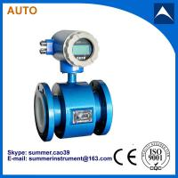 Wholesale split-type magnetic flow meter used for measure water from china suppliers