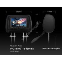"""Wholesale 7""""Touch Screen car Head rest DVD player with Zip with Pillow for all cars DVD Headrest from china suppliers"""