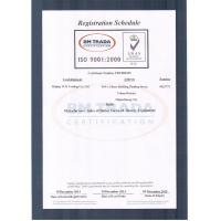 Beijing TCK Trading Co., Ltd. Certifications