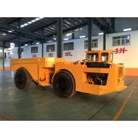 Wholesale 15 Ton Dump Truck Trailer With Wheels , Orange Mining Dump Truck from china suppliers