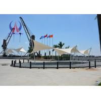 Wholesale Stretched Fabric Canopy Large Temporary Shelter Structures For Prefabricated Building from china suppliers