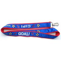 Wholesale Sports neck lanyards, football cheer leading neck straps, imprint soccer sports lanyards, from china suppliers