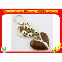 Wholesale Promotional gifts custom Metal Keychains with different color and logo from china suppliers