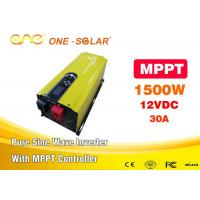 Wholesale 12V 1500W toroidal transformer Solar inverter with MPPT solar controller  for Pakistan from china suppliers