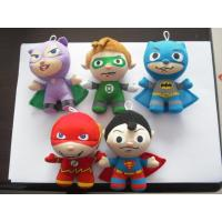 Wholesale Fashion Small Superman and Batman keychain Stuffed Plush Toys For Christmas Promotion from china suppliers