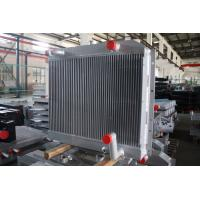 Wholesale Customized aluminum bar plate fin heat exchanger combi oil cooler with air after cooler from china suppliers
