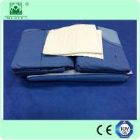Wholesale Laparoscopy Drape Packs With 10X30cm Fenestration and Reinforced from china suppliers