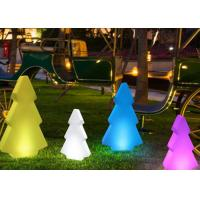 Wholesale Color Changing Remote Control Tree LED Pillar Lights for Christmas Holiday Decorative from china suppliers