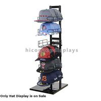 Quality Sportswear Products Store  6 - Layer Retail Display Fixtures Counter Top For Hat / Cap for sale