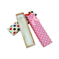 Wholesale Long Cardboard Gift Jewellery Presentation Boxes For Necklaces from china suppliers