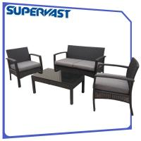 Wholesale Rattan Resin Wicker Patio Furniture Outdoor Furniture Deep Seating Set from china suppliers
