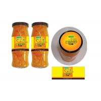 Wholesale Yellow Coated Paper Printed Self Adhesive Labels For Glass Bottle Canned Fruit from china suppliers