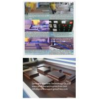acrylic Modern kitchen cabinet door vacuum membrane press machine