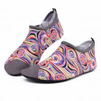 Wholesale Van Gogh Style Aqua Water Shoes / Protective Barefoot Slip On Swim Shoes from china suppliers