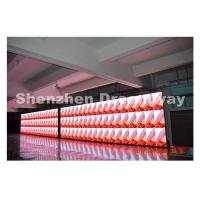 Quality Advertising 4 mm pp Indoor Full Color LED Display Panel 1.6 mm Thickness PCB Iron Cabinet for sale