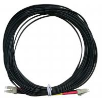 Wholesale OPTOSTAR Black Fiber Optic Jumper LC/APC to LC/APC Optical Cable LSZH Jacket from china suppliers