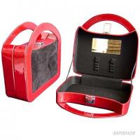 Wholesale Red Drawer Travel Necklace Case , Leather Jewelry Cases For Travel from china suppliers
