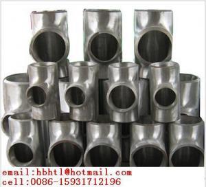 Wholesale equal tee/ straight tee/ reducing tee/ EQ tee/ barred tee from china suppliers