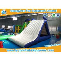 Wholesale Fun Sunmmer Jumping Inflatable Water Park Backyard Water Slides For Adults from china suppliers