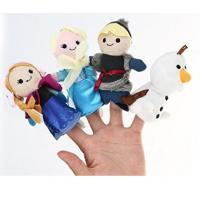 Wholesale Lovely Cartoon Plush Toys Frozen Soft Finger Puppets For Promotion Gifts And Premium from china suppliers