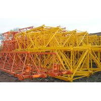Buy cheap Construction Material Hoist, Electric Self Erecting Tower Crane 80/40/10 m/min QTZ63C from wholesalers